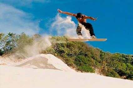 Supertubes Jeffreys Bay Sand_Boarding